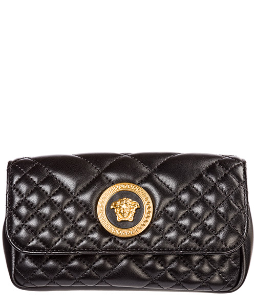 Поясные сумки Versace medusa dv3g986-dnatr2_k41ot nero