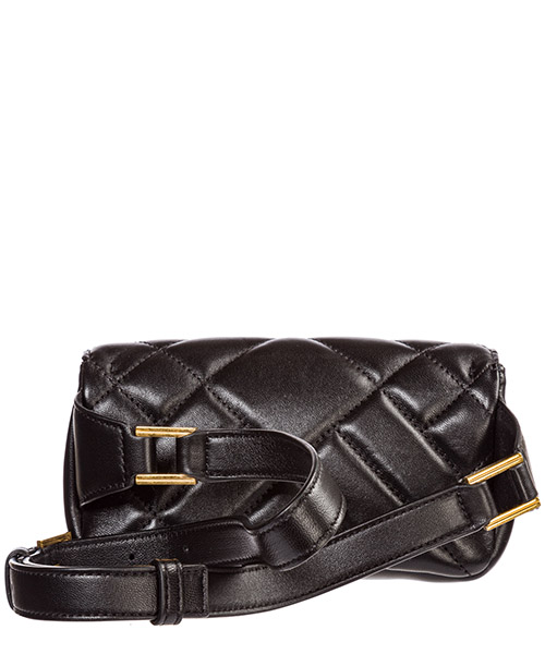 Women's leather belt bum bag hip pouch  medusa secondary image