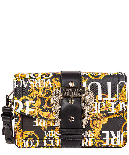 Shoulder bag Versace Jeans Couture Logo Baroque EE1VUBBF1-E40299_EM09 nero
