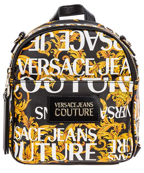 Zaino Versace Jeans Couture logo baroque ee1vubbs5-e40328_em27 nero