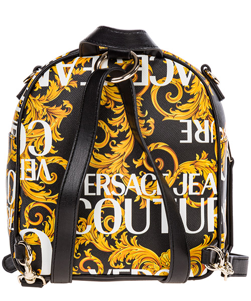 Women's rucksack backpack travel  logo baroque secondary image