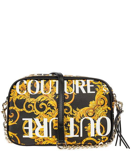 Borsa donna a spalla shopping  logo baroque secondary image