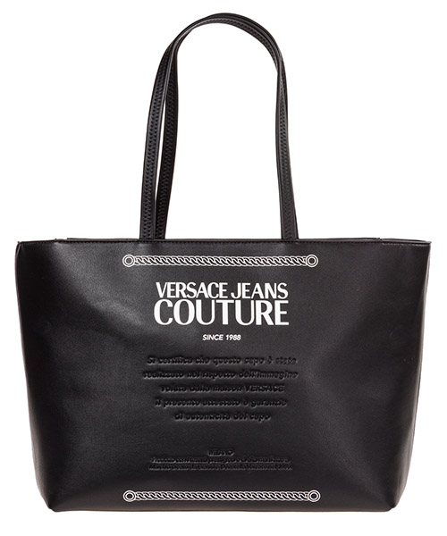 Shoulder bag Versace Jeans Couture EE1VUBBT3-E40329_E899 nero