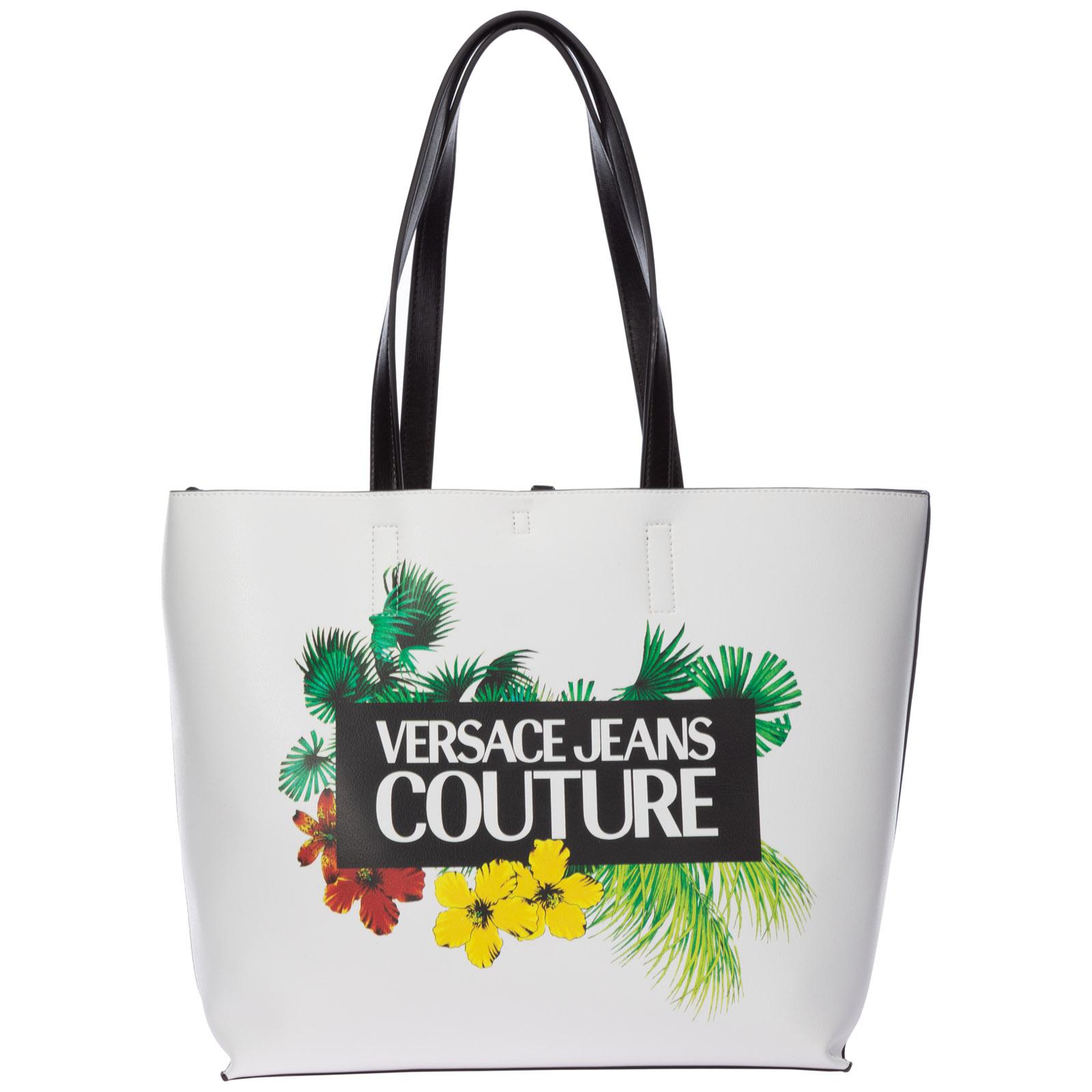 Versace Jeans Women/'s Shopping Bag Grey