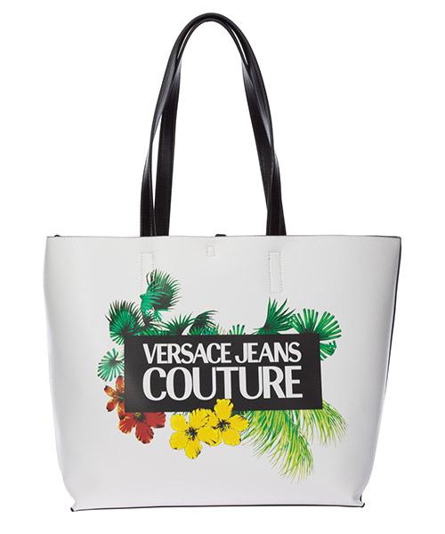 Bolsa de asa larga Versace Jeans Couture EE1VVBB50-E71501_E003 bianco