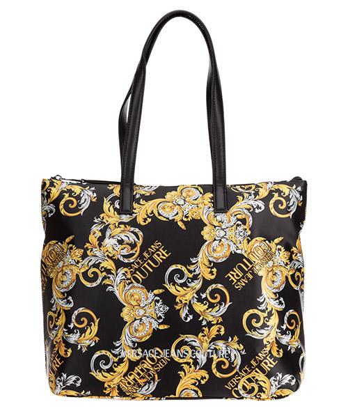 Schultertasche Versace Jeans Couture baroque ee1vzabtd-e71586_em27 nero