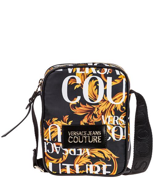 Borsa a tracolla Versace Jeans Couture Logo Baroque EE1YUBB74-E71152_EM27 nero