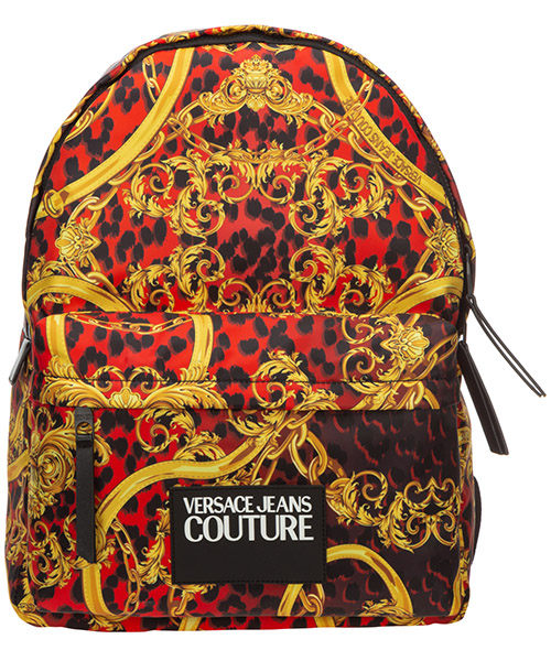 Backpack Versace Jeans Couture leo chain EE1YVBB20-E71427_E500 rosso