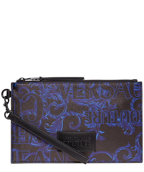 Porte-document Versace Jeans Couture baroque ee3yubpa1-e71296_ee31 nero