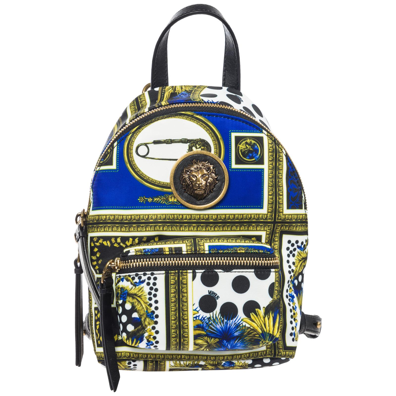 Women's rucksack backpack travel  lion head