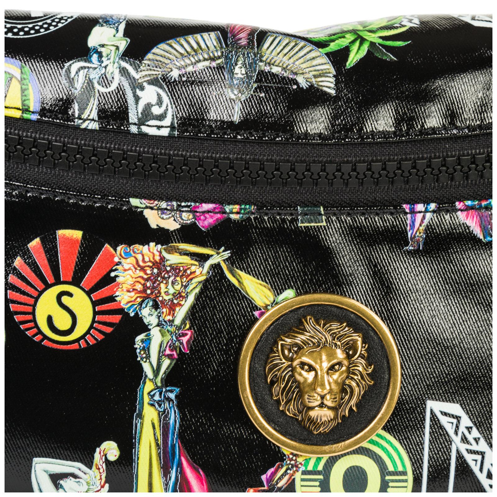 Women's belt bum bag hip pouch  lion head