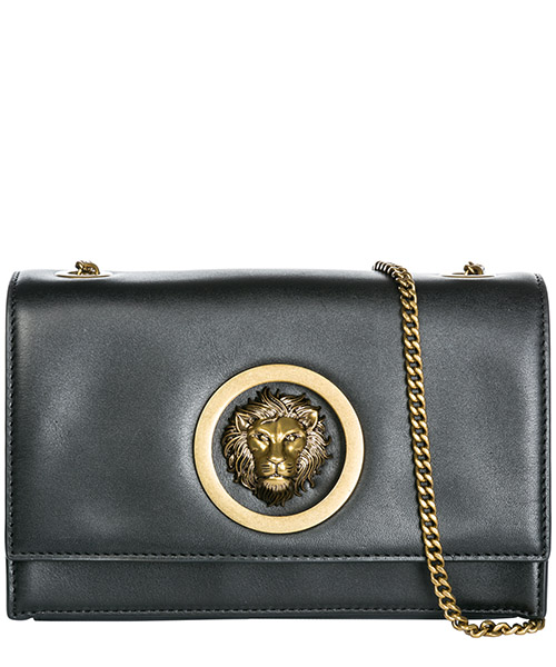 Clutch bag Versus Versace Lion Head FBD1401-FGC_F460E black - antique gold