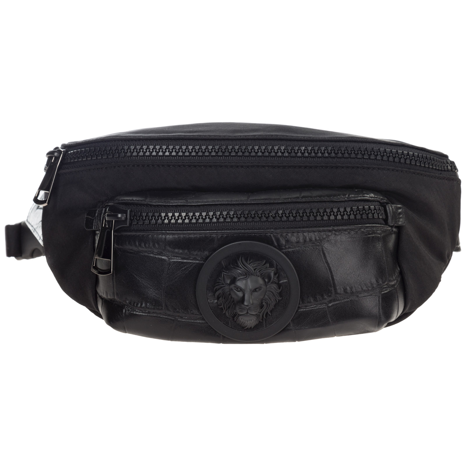 Men's belt bum bag hip pouch  lion head