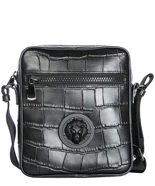 Umhängetasche Versus Versace Lion Head FBU0109-FBCCM_F461C black