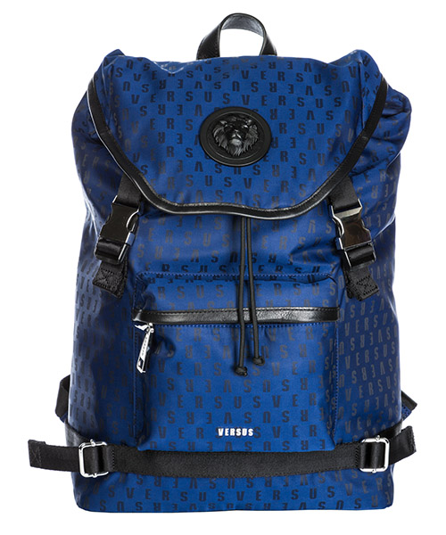 Mochilas Versus Versace Lion Head FBU0115-FNJMRA_F806N blue - black