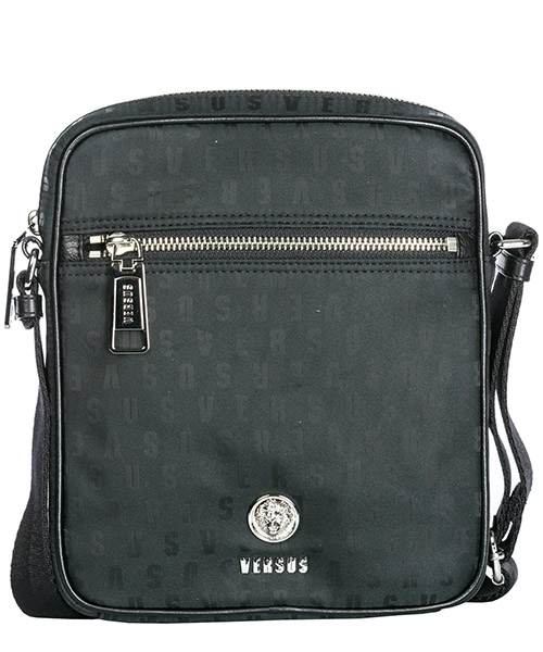 Crossbody bag Versus Versace Lion Head FBU0120-FNJG_F461N black