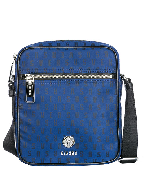 Borsa a tracolla Versus Versace lion head fbu0120-fnjg_f802n blue - black - nickel