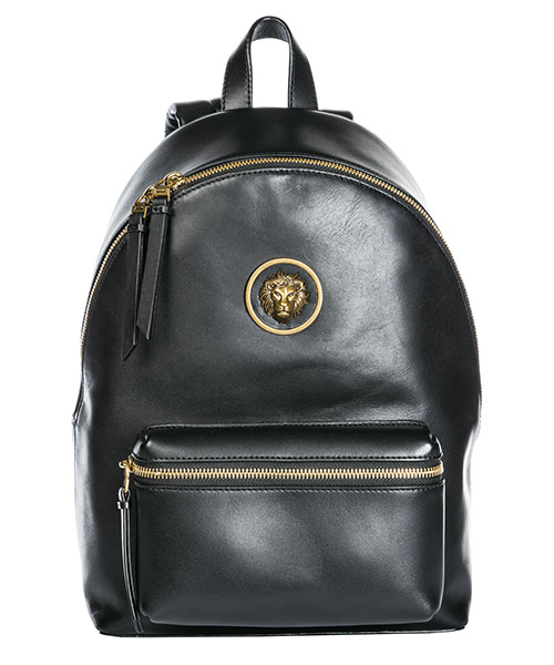 Rucksack Versus Versace Lion Head FBX0054-FGCR_F461E black - antique gold