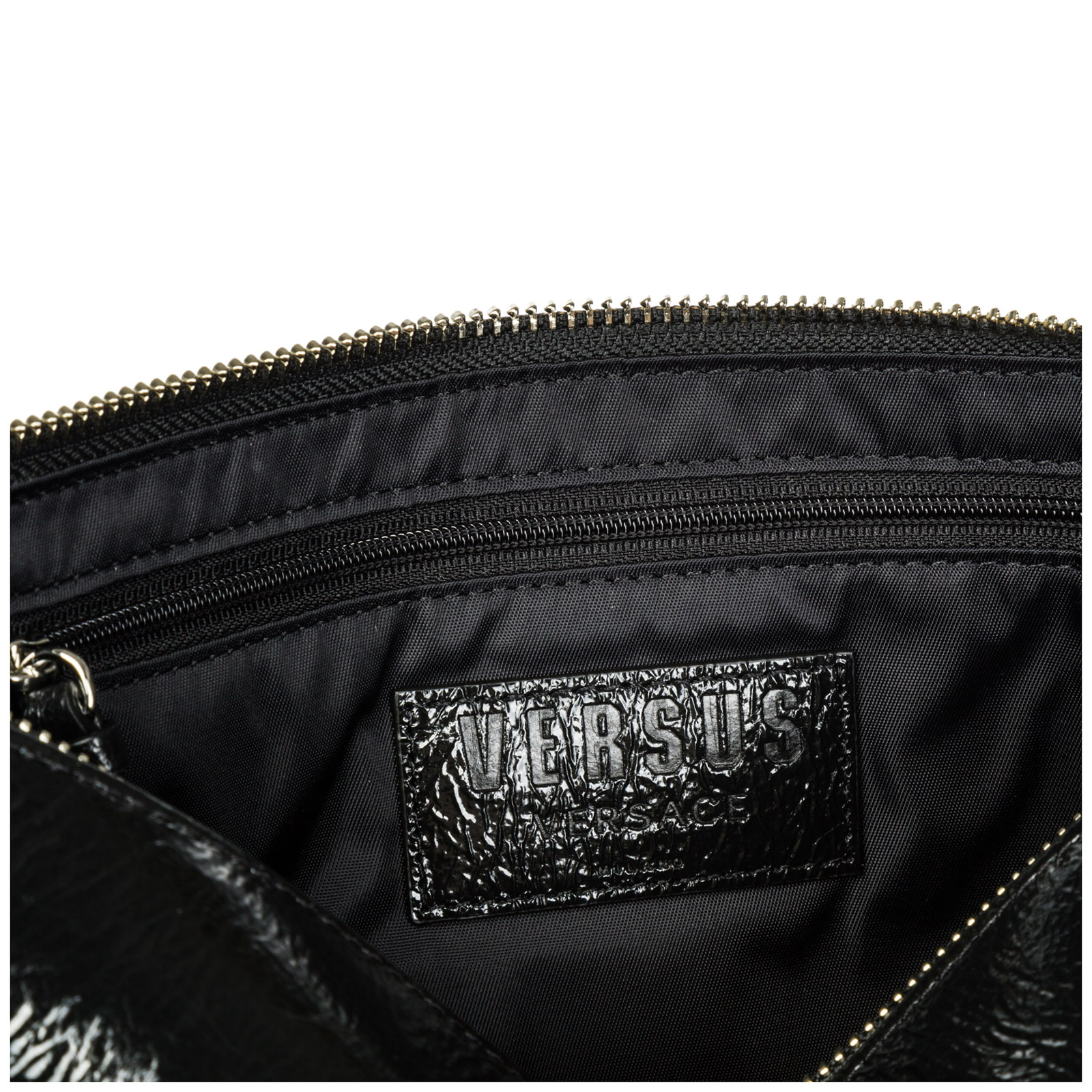 Women's leather clutch handbag bag purse