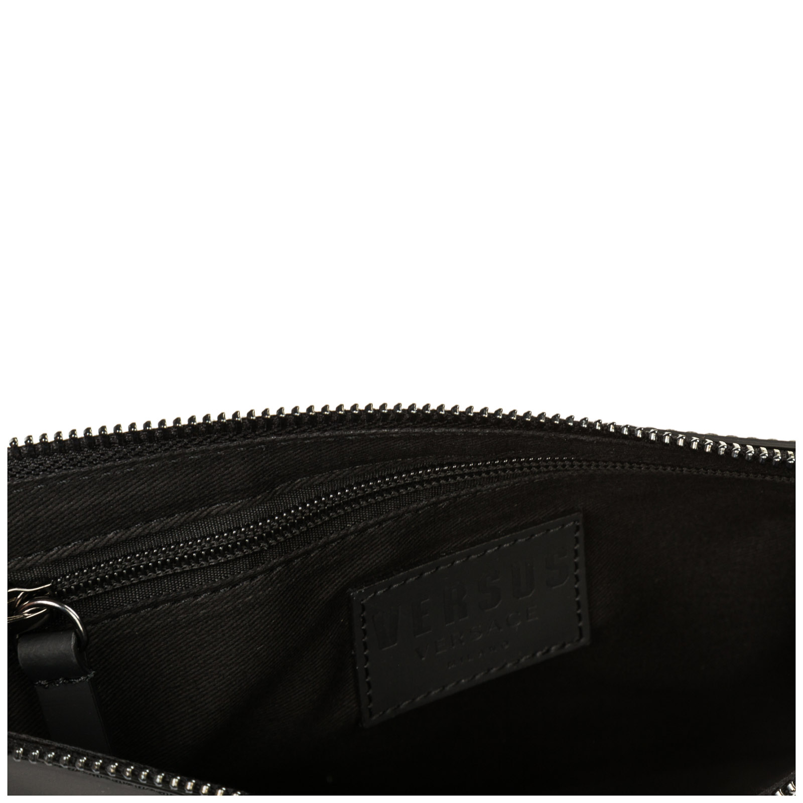 Women's leather clutch handbag bag purse  lion head