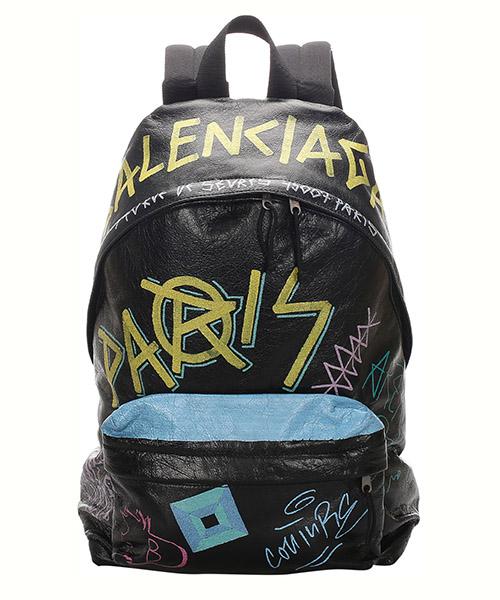 Backpack Balenciaga Pre-Owned 0CBGBP001 nero
