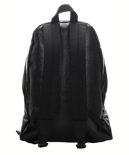 Women's leather rucksack backpack travel  graffiti explorer secondary image