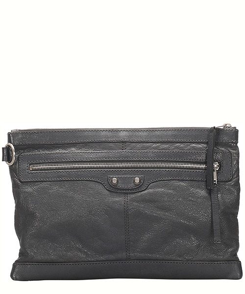 Clutch Balenciaga Pre-Owned 0cbgcl001 nero