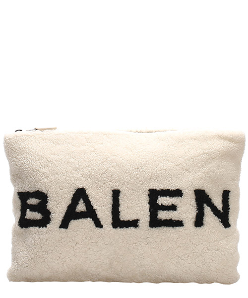 Clutch bag Balenciaga Pre-Owned 0CBGCL002 bianco