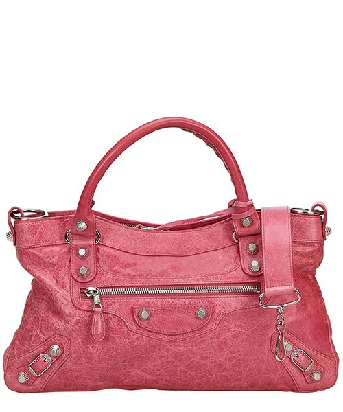 Handbags Balenciaga Pre-Owned 9FBGST003 rosa