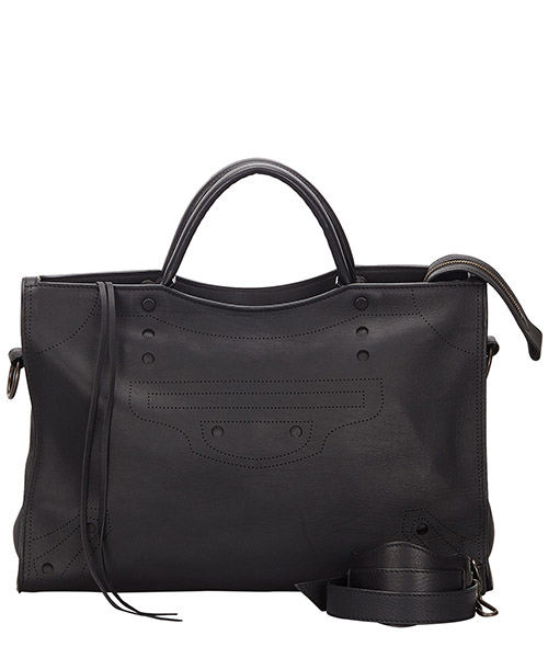 Handbags Balenciaga Pre-Owned 9IBGHB001 nero