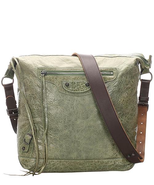 Crossbody bags Balenciaga Pre-Owned GLJ0EBGTO001 verde