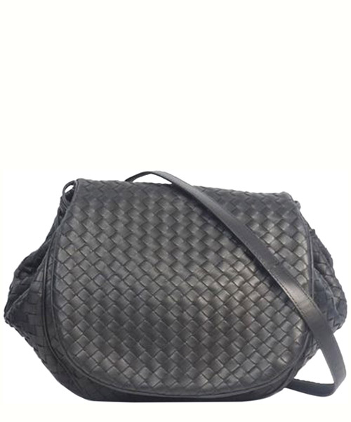 Shoulder bag Bottega Veneta Pre-Owned 0DBOSH001 nero
