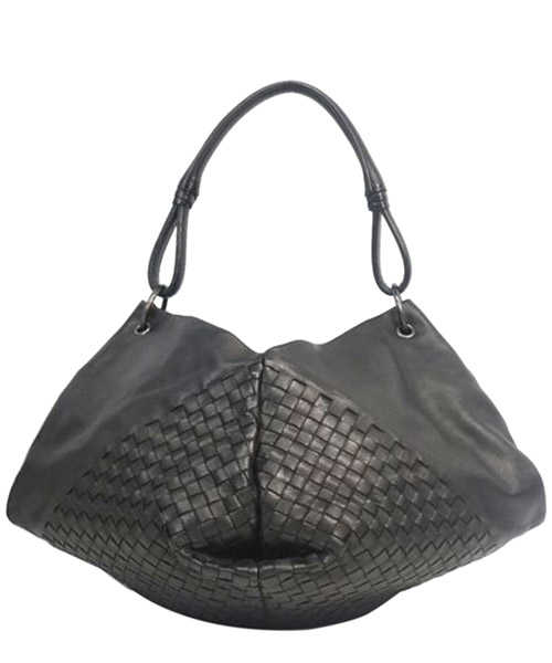 Shoulder bag Bottega Veneta Pre-Owned 0DBOSH006 nero