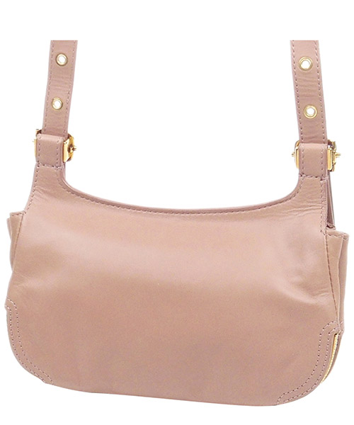 Women's shoulder bag iin pelle secondary image