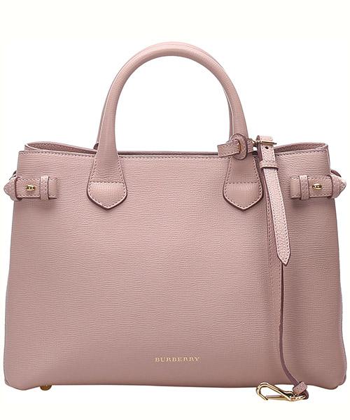Handbags Burberry Pre-Owned 0BBUST002 rosa
