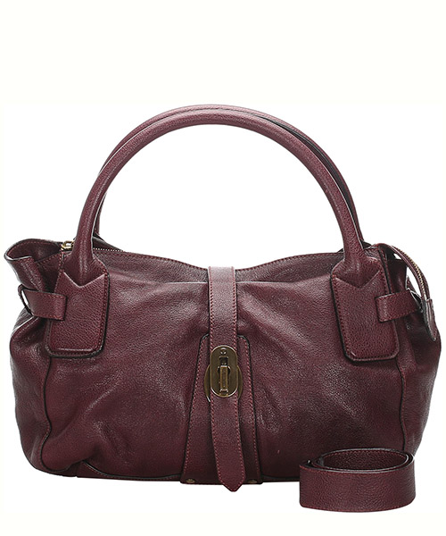 Schultertasche Burberry Pre-Owned 0cbust001 rosso