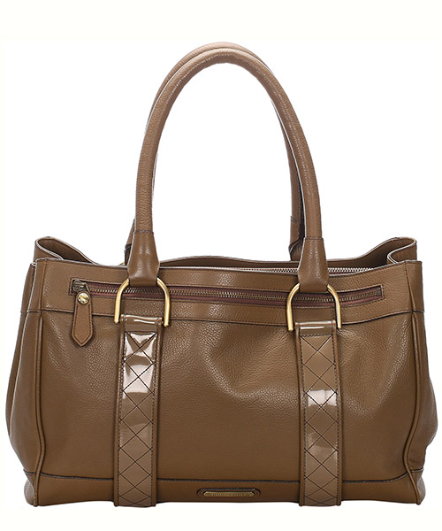 Shoulder bag Burberry Pre-Owned 0DBUHB001 marrone