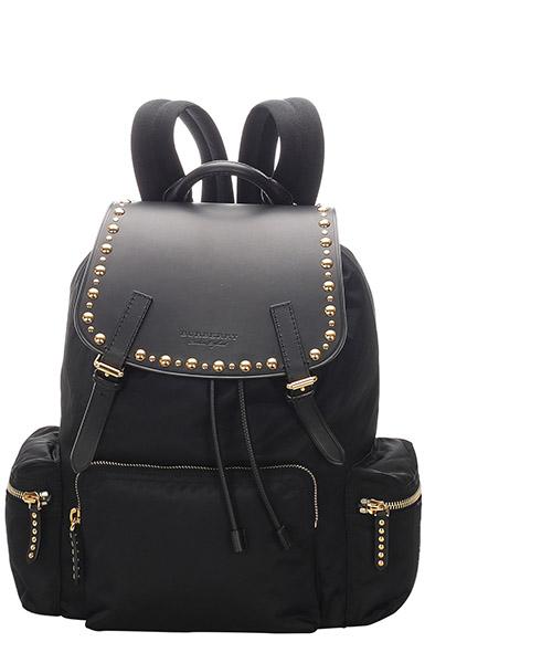 Backpack Burberry Pre-Owned GLJ0EBUBP001 nero