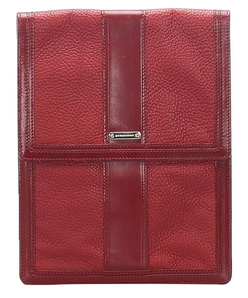 Clutch bag Burberry Pre-Owned GLJ0FBUBS001 rosso