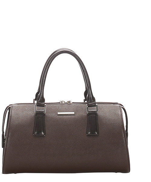 Bowling Tasche Burberry Pre-Owned glj0fbuhb001 marrone