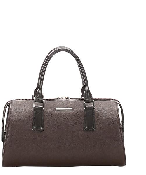 Bowler bag Burberry Pre-Owned GLJ0FBUHB001 marrone