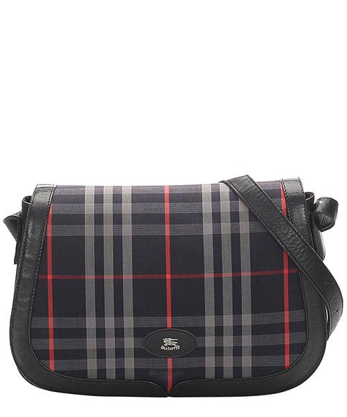 Crossbody bags Burberry Pre-Owned MEJ0EBUSH001 blu