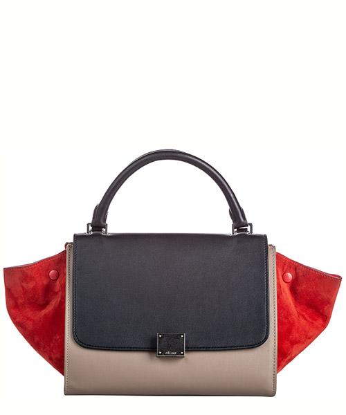 Handbags Celine Pre-Owned FF0CEST011 marrone