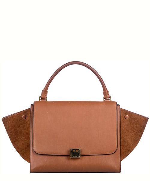 Handbags Celine Pre-Owned FF0CEST014 marrone