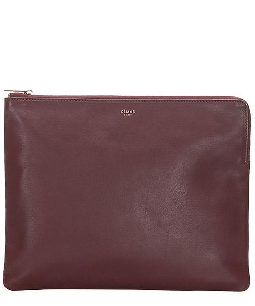 Clutch bag Celine Pre-Owned GLJ0ECECL001 rosso