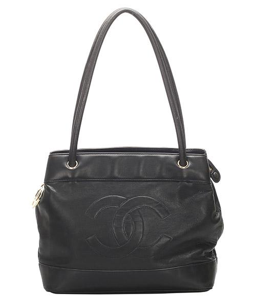 Shoulder bag Chanel Pre-Owned 0GCHTO022 nero