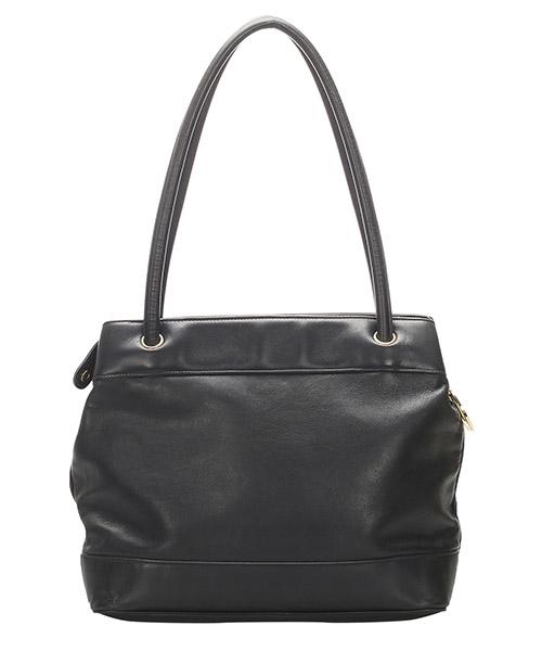 Women's leather shoulder bag cc secondary image