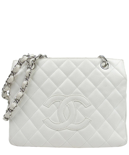 Bolsa de asa larga Chanel Pre-Owned GVJ0FCHTO003 bianco