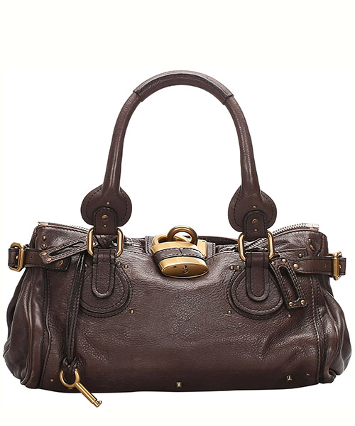 Schultertasche Chloe Pre-Owned 0cclhb002 marrone