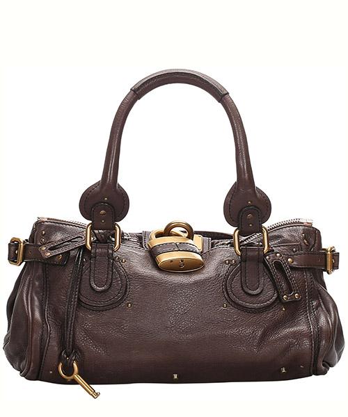 Shoulder bag Chloe Pre-Owned 0CCLHB002 marrone
